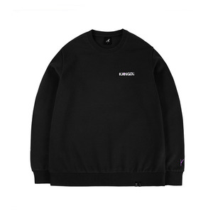타이포 로고 웜업 티셔츠1542 블랙